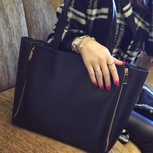 Neue herbst winter frauen art und weise allgleiches kurze bild paket umhängetasche große kapazität frauen handtasche schwarz