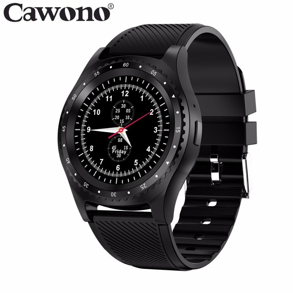 Cawono CN99 Bluetooth Intelligente Orologio Anti-perdita di Smartwatch Android Chiamata di Telefono Relogio 2g GSM SIM Carta di TF Della Macchina Fotografica per iPhone Android