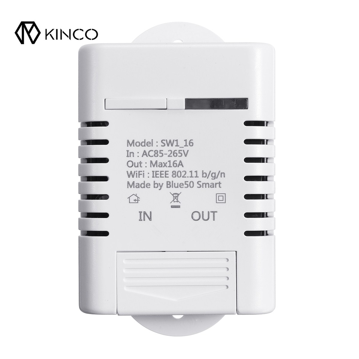 KINCO Smart WiFi Wireless Switch 16A Timing Module Power APP Remote Control Smart Home automation module for GOOGLE HOME Alexa