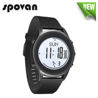 SPOVAN 70g Ultra Thin Business Watch For Men Carbon Fiber Sport Watches Silica Gel Watchband Beyond