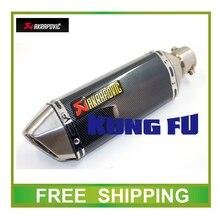 Modificar tubo silenciador de escape de la motocicleta tubo de escape akrapovic motocross scooter moto de escape mivv sc sc proyecto motogp ar