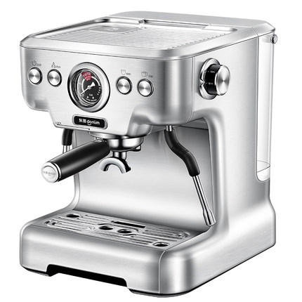Dongling DL-KF5700 Espresso Coffee Machine Home Commercial Italian Steam Cafe Maker Milk Foam Household Stainless Steel 20bar