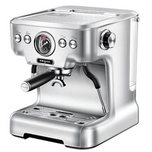 цена на Dongling DL-KF5700 espresso coffee machine home commercial Italian steam cafe maker milk foam household stainless steel 20bar