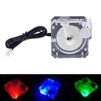 12V Acrylic Cover Super Silent Water Circulation Pump 450L H Max Flow Slient Pump With 3M