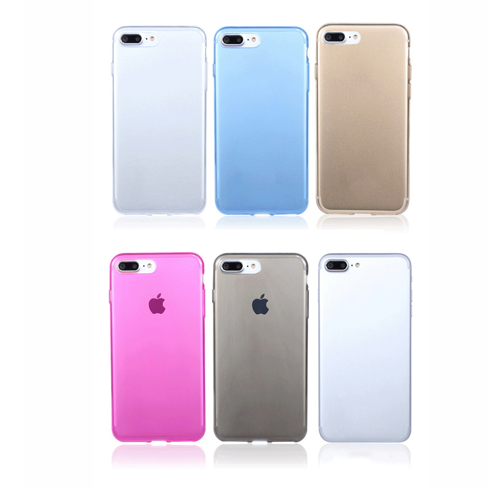 JETTING New 1 pcs Transparent Clear TPU Case for Apple iPhone 7 7 Plus Mobile Phone Cases Soft Silica Gel Cover