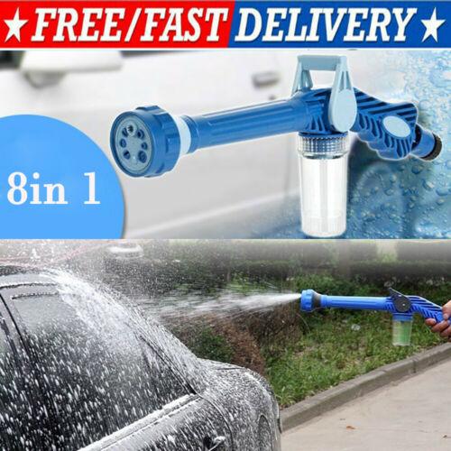 Image 2 - Multi function sprinkler 8 IN 1 Garden Hose Nozzle Water Soap Dispenser Pump Spray Gun Car Washer Cleaning-in Garden Water Guns from Home & Garden