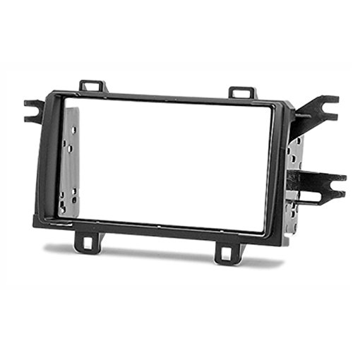 2 Din Car Radio Stereo Fascia Panel Frame DVD Dash Installation Kit for Toyota Matrix 2008-2011 Pontiac Vibe 2008-2009