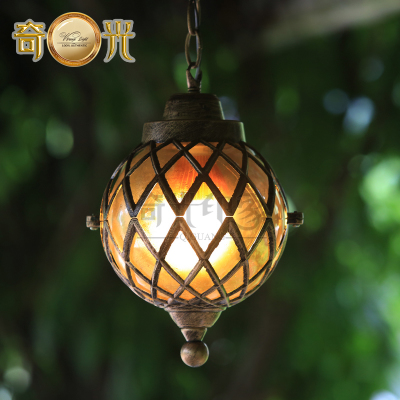 Classical Europe Style Pergola Hanging Lamp Outdoor