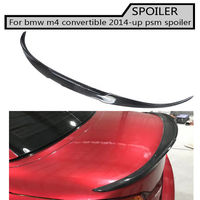 m4 Carbon Fiber Rear Trunk wing Spoiler For BMW F33 M4 Convertible 2014 up