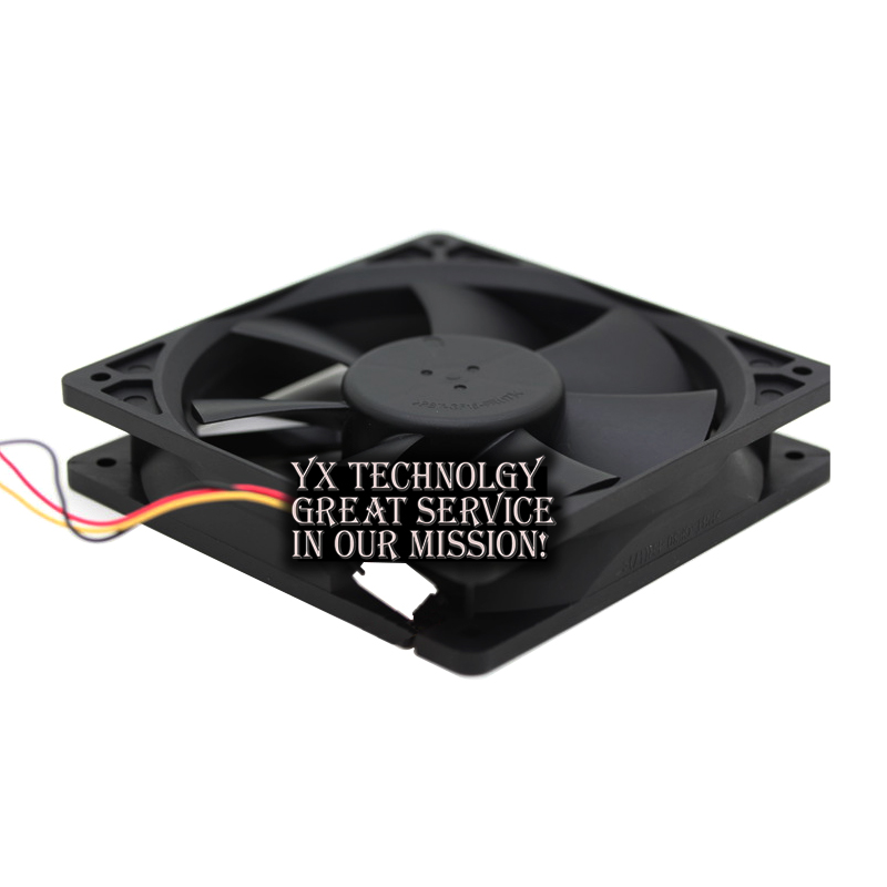 Image 5 - Delta New and Original AFB1212VH BL3V 12025 12V 0.60A 3lines dedicated fan for  120*120*25mm-in Fans & Cooling from Computer & Office