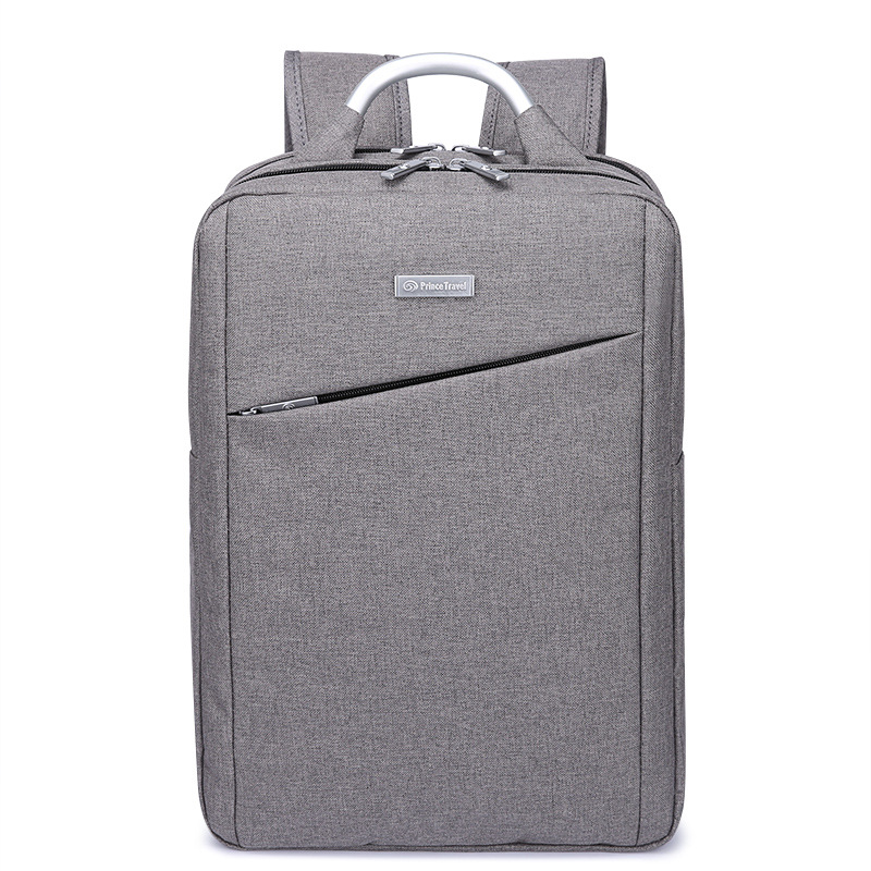 Unisex Korean Style Large Space Notebook 15 Laptop Backpack Bag Female Travel School Backpacks for Bicycle Teenage Girls Grey kingsons brand waterproof men women laptop backpack 15 6 inch notebook computer bag korean style school backpacks for boys girl