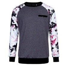 Brand Fashion Designers Shirts Men Floral Shirts Long Sleeve Print Shirt Long Sleeve Tops Print Stitching Casual Slim Fit Tops