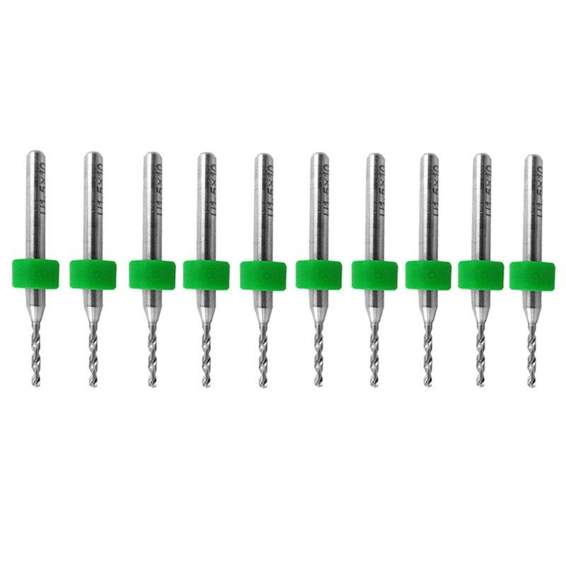10 Pcs PCB Print Circuit Board Carbide CNC Micro Drill Bits Tool 1.2 Mm New VE630 P0.11 10pcs pcb print circuit board drill bit carbide micro drill bits engraving tool 0 1mm to 1 0mm r02 drop ship
