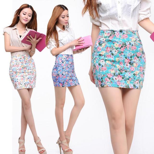 Sexy  Elastic hip Skirt