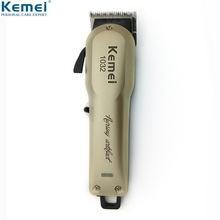 Kemei мощный триммер для волос профессиональная электрическая
