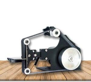 Image 3 - 220V Masaüstü zımpara kayışı tezgahı DIY Ahşap parlatma makinesi 0 7500RPM 762x25MM Kemer makinesi Y