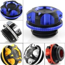 CNC Oil Filler Cover Cap For Suzuki GSXR 600 GSX-R 750 GSXR 1000 GSX1300R HAYABUSA V-STROM SV650 SV1000 GSX  APRILIA RSV 1000 R цена и фото