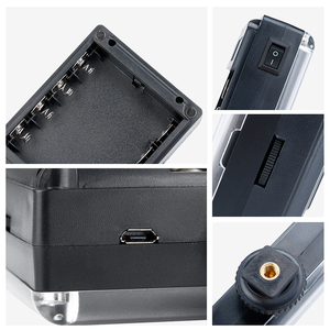 Image 4 - Ulanzi 112 Mini LED lumière vidéo poche Vlog continue remplissage éclairage sur appareil photo pour Canon Nikon DSLR Moza Mini S Zhiyun lisse 4