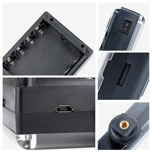 Image 4 - Ulanzi Mini luz LED para vídeo de bolsillo, Vlog, iluminación de relleno continua, para cámara Canon, Nikon, DSLR, Moza Mini S, Zhiyun Smooth 4, 112
