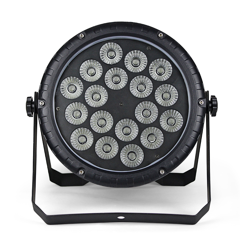 LED Par Light 18Pcs Lamp Beads 10W RGBW Stage Effect Light Professional For Stage Show Party Shows Disco Club Lighting Equipment