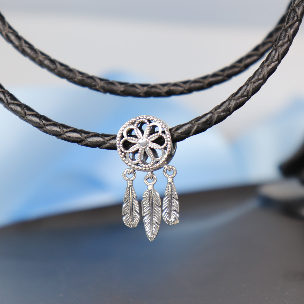Summer 925 Sterling Silver Bead Spiritual Dream Catcher Dangle Charm Fit Original Pandora Bracelet Bangle Diy Jewelry In Beads From Accessories On