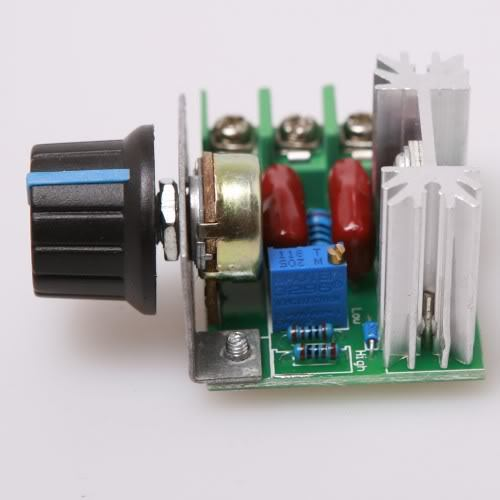 Fixmee New AC 50-220V 2000W Motor Speed Control SCR Controller Knob Switch
