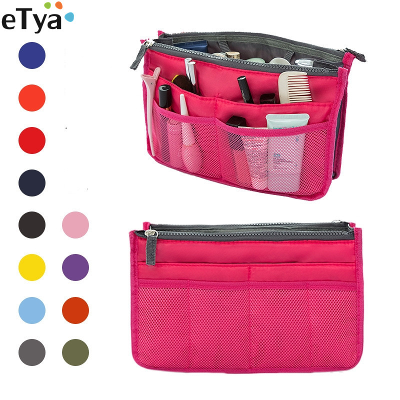 Fashion Travel Women Cosmetic Bag Beautician Necessaries Make Up Bags Ladies Toiletry Tote Organizer Case