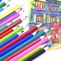 120 Cores Lápis de cor À Base de Óleo Seguro E Não-tóxico lapices de colores de Papelaria Conjunto de Lápis Para A Escola de Desenho Profissional