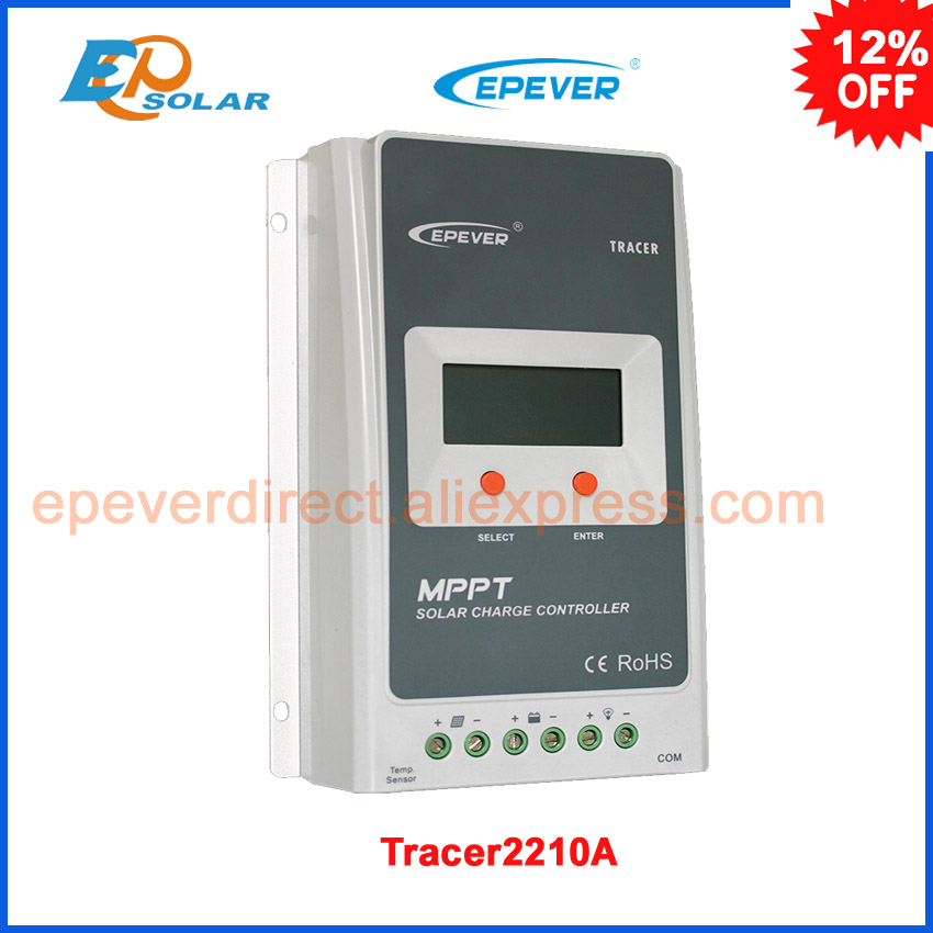 Tracer2210A LCD MPPT 20A 100V solar charge controller EPsolar Tracer 2210A new Charge controllers epsolar tracer mppt 20a 2215bn solar charge controller solar tracker controller for renewable energy system