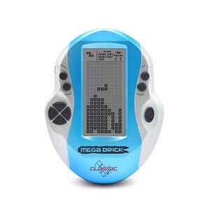 Image 4 - Горячая Ретро Классическая портативная игровая консоль тетрис для детей встроенный 26 игр большой экран тетрис игровая машина подарок для детей