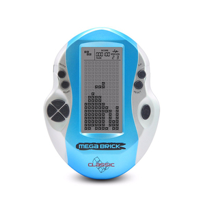 Image 4 - Hot Retro Classic Handheld Tetris Game Console Children Built In 26 Games Large Screen Tetris Game Machine Gift for Kids