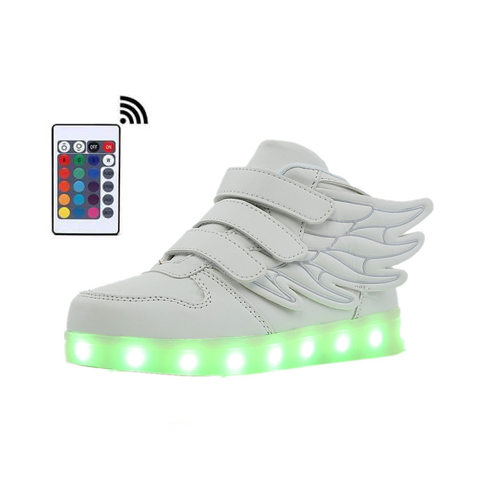 LED Light Up Shoes With Remote Controller Skate Sneakers  glowing Led for Boys Girls