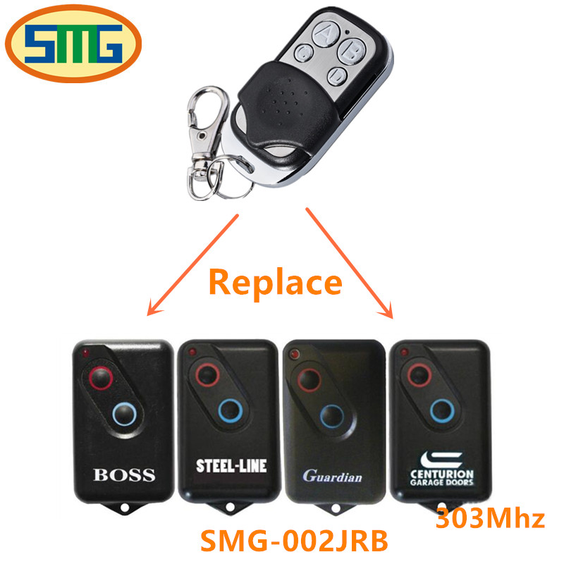 Garage Door Rolling Code Remote Control Replacement Compatible With Boss 303mhz free shipping