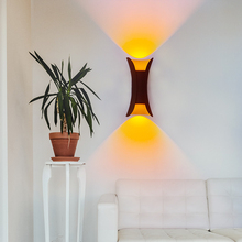 European style LED Wall Lamp Outdoor Garden Light Indoor Home for Decorative Room Sconce Lighting Porch Garden Black/White недорого