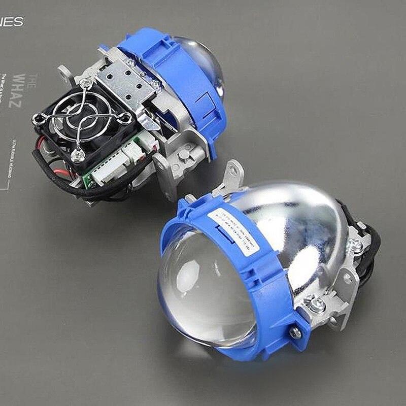 Bi-LED doubl Pro Projector Headlight Lens H1 H4 H7 LHD RHD,Use LED light source Car Styling