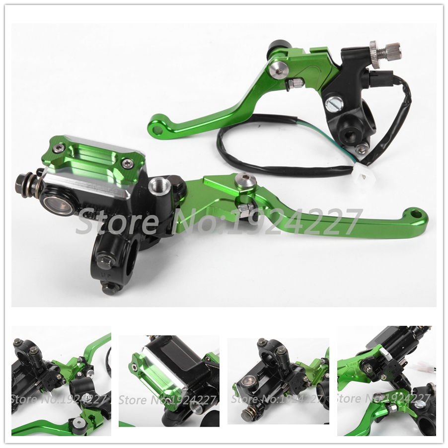 For Kawasaki KX65 KX85 KX 85 65 2001 2015 CNC 7 8 Dirt Bike Brake Master