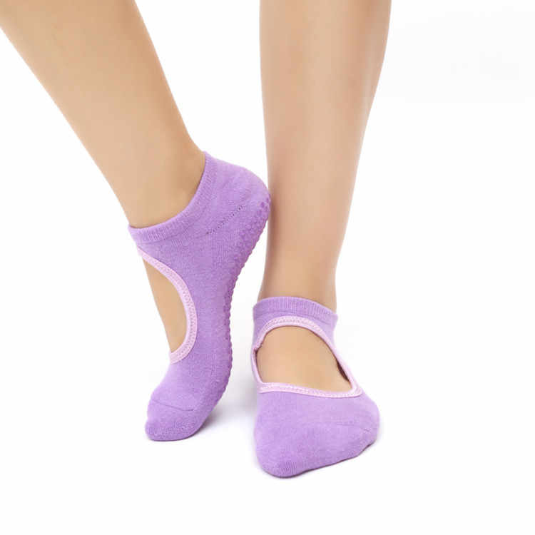 BESGO 1คู่Fashionalโยคะถุงเท้าผู้ใหญ่ลื่นบ้านSoxถักผ้าฝ้ายเทอร์รี่นิ้วเท้าถุงเท้าถุงเท้ากีฬา