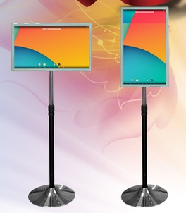 26 43 46 49 50 Inch Led LCD TFT Hd LG Panel Free Stand Wireless Monitor Display Ad Digital All In One Inquiry Touch Signage