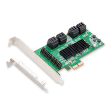 Card-Pcie Low-Profile Controller Sata-Adapter Expansion Pci-Express 8-Port 6gbps To
