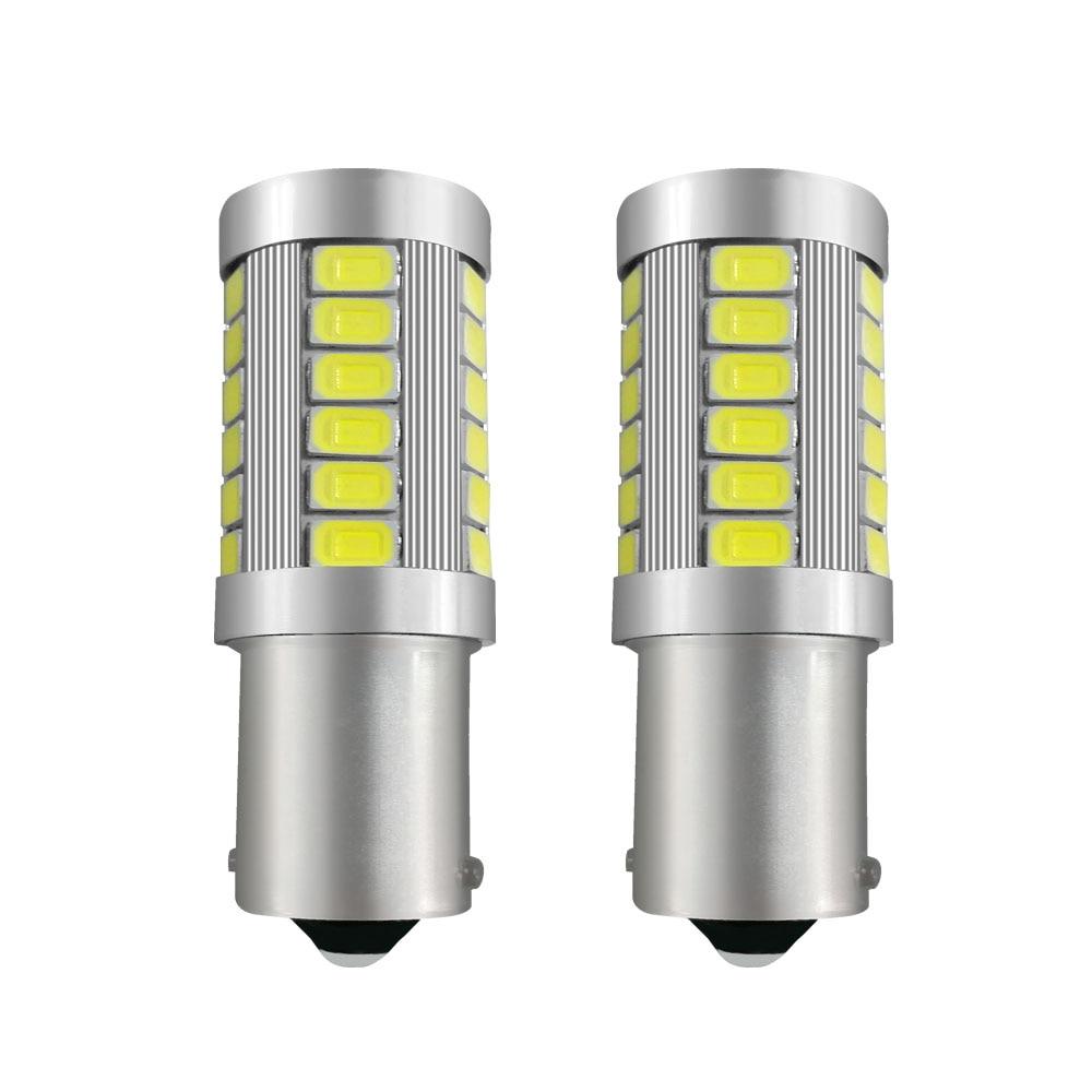 Signal Lamp Genteel Signal Light 1156 P21w Led Canbus Ba15s Led Brake Lights 12v Auto Reverse Lamp Brake Turn Signal Daytime Running Light White To Prevent And Cure Diseases