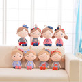 2PCS/set 30cm fever plush toy doll Lovely seashell son a couple toys navy boys and girls plush doll birthday gift