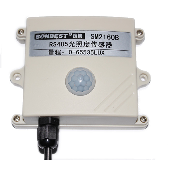 RS485 light intensity sensor, stable and reliable, high accuracy, MODBUS RTU protocol, SM2160B genuineRS485 light intensity sensor, stable and reliable, high accuracy, MODBUS RTU protocol, SM2160B genuine
