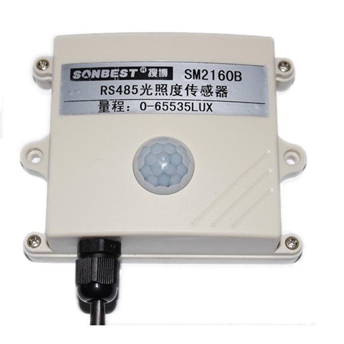 RS485 Light Intensity Sensor, Stable And Reliable, High Accuracy, MODBUS RTU Protocol, SM2160B Genuine