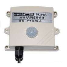 RS485 light intensity sensor, stable and reliable, high accuracy, MODBUS RTU protocol, SM2160B genuine стоимость