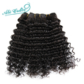 Ali Grace Hair Brazilian Deep Wave Virgin Hair 4Bundles, Unprocessed Brazilian Curly Virgin Hair Deep Wave Brazilian Hair