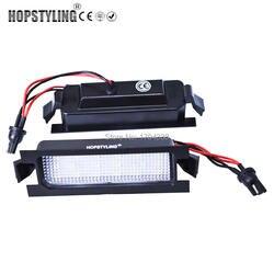 Hopstyling 2X Canbus 18 SMD LED номерной знак света для KIA Pro cee'd 2006-2011 авто Замена автомобилей для укладки