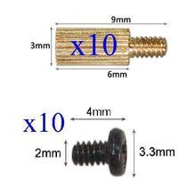 10x Standoffs (3x6mm) and Screws for Board Mount CCTV AHD TVI CVI 1080P IP WIFI IR Cameras