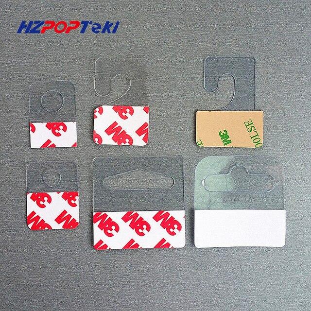 Plastic Pvc Pet Hang Opknoping Tab Haken Op Merchandise Pakket Box
