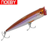 Hard Lure Popper Fishing Lure 9069 140mm 40g Top Water Hard Plastic Bait Acessorios Para Pesca