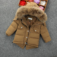 Children S Down Jacket Baby Clothing Baby Boys Jacket 2017 Winter Jacket Warm Hooded Long Sleeve